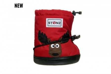 Stonz Toddler Booties (str M og L)- Moose