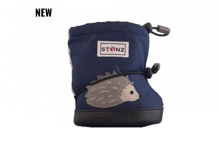 Stonz Toddler Booties (str L)- Hedgehog