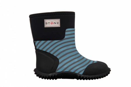 Stonz The West - Neoprenstøvler - Stripes - Grey & Haze blue