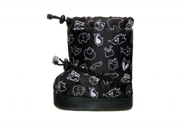 Stonz toddler booties - Stonz print - andre siden